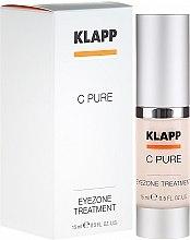 Düfte, Parfümerie und Kosmetik Augencreme mit Vitamin C, Peptiden, Hyaluronsäure - Klapp C Pure EyeZone Treatment