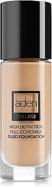 Deckende Fluid Foundation - Aden Cosmetics High Definition Fluid Foundation — Bild N1