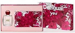 Düfte, Parfümerie und Kosmetik Desigual You - Kosmetikset (Eau de Toilette/100ml + Kosmetiktasche)