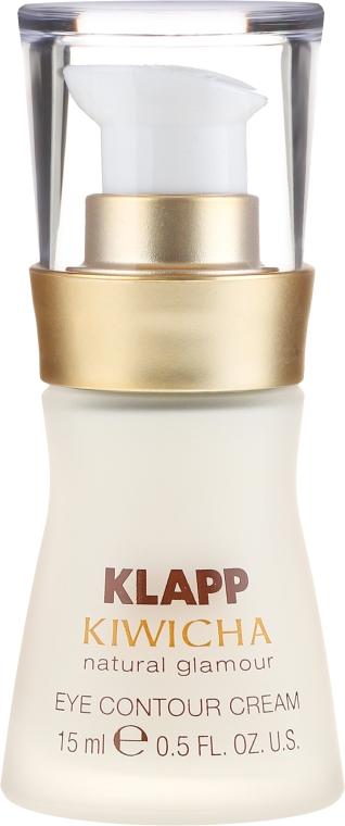 Leichte Fluid-Creme für die Augenpartie mit Aloe Vera und Sheabutter - Klapp Kiwicha Eye Contour Cream — Bild N2