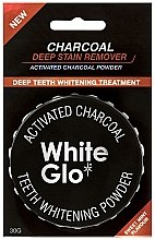 Düfte, Parfümerie und Kosmetik Aufhellendes Zahnpuder mit Aktivkohle - White Glo Activated Charcoal Teeth Polishing Powder
