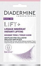Düfte, Parfümerie und Kosmetik Glättende und straffende Anti-Falten Tuchmaske mit Lifting-Effekt - Diadermine Lift+ Instant Lifting Tissue Mask