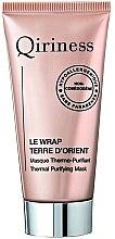 Düfte, Parfümerie und Kosmetik Wärmende und reinigende Gesichtsmaske - Qiriness Thermal Purifying Mask