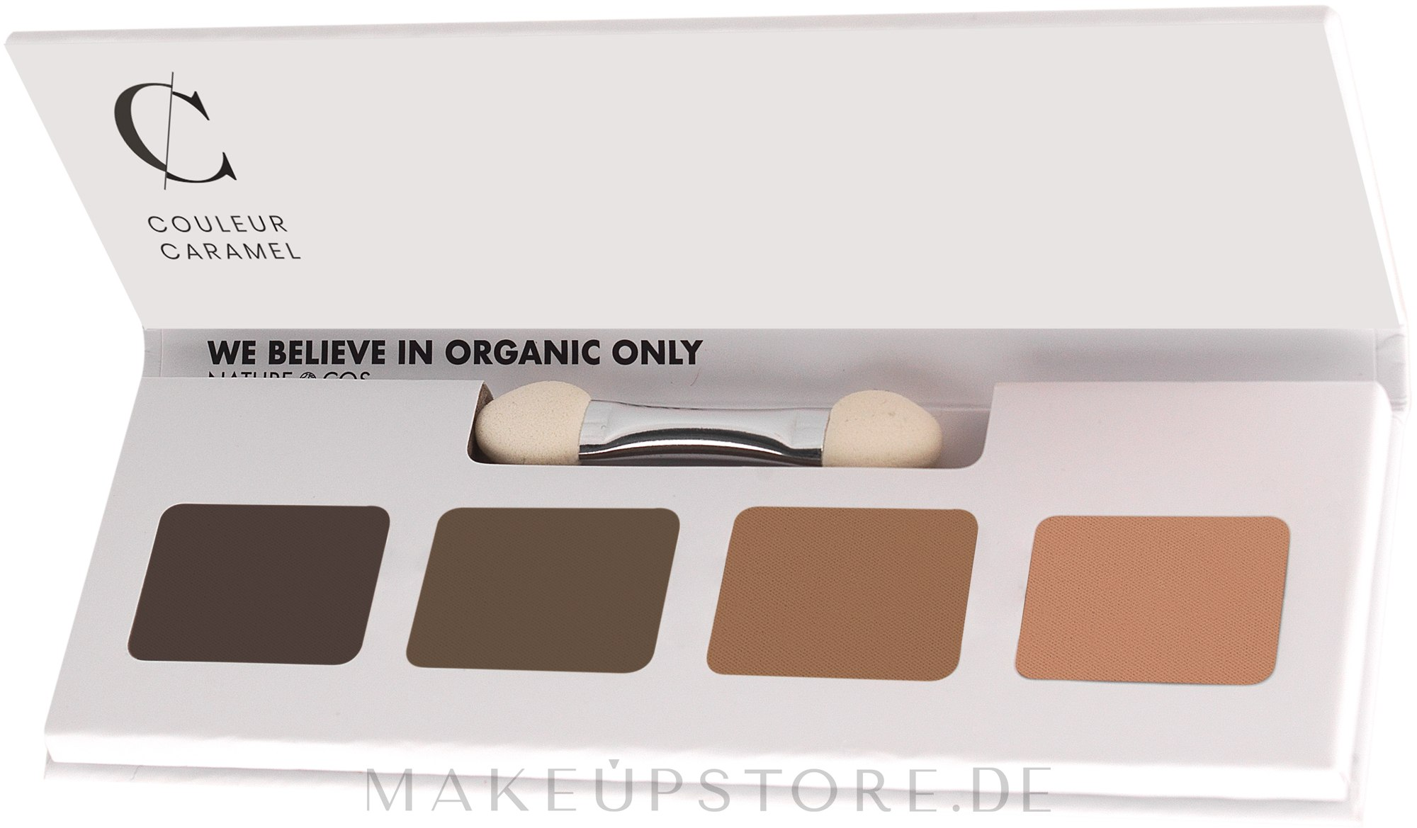 Lidschattenpalette - Couleur Caramel Bio Sublime Eye Palette — Bild 48