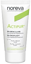 Düfte, Parfümerie und Kosmetik BB Creme mit Ceramiden und Vitamin PP gegen Hautunvollkommenheiten - Noreva Laboratoires Actipur Tinted BB Cream
