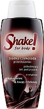 """Düfte, Parfümerie und Kosmetik Duschgel """"Schokolade"""" - Shake for Body Shower Gel Chocolate"""