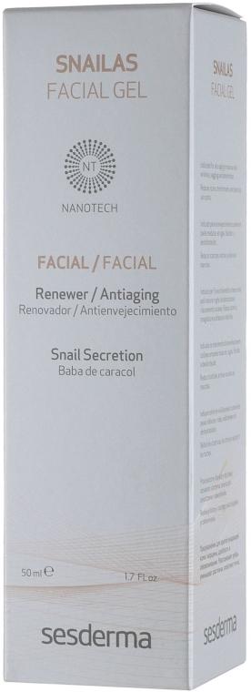 Anti-Aging Gesichtsgel mit Schneckensekret - SesDerma Laboratories Snailas Gel Facial — Bild N4
