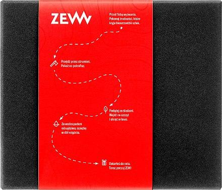 Körperpflege-Geschenkset mit Naturseifen - Zew Barber's Holiday Must Have Box (Natürliche Rasierseife 85ml + Haarseife 85ml + Gesichts- und Körperseife mit Aktivkohle 85ml) — Bild N1