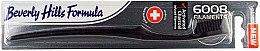 Düfte, Parfümerie und Kosmetik Zahnbürste mit Aktivkohle weich 6008 Filaments schwarz - Beverly Hills Formula 6008 Filament Charcoal Toothbrush