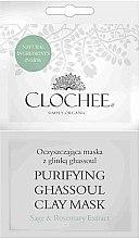 Düfte, Parfümerie und Kosmetik Reinigende Tonmaske mit Salbei- und Rosmarinextrakt - Clochee Purifying Ghassoul Clay Mask