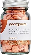 Düfte, Parfümerie und Kosmetik Mundwassertabletten mit Orange - Georganics Mouthwash Tablets Refill Pack Orange