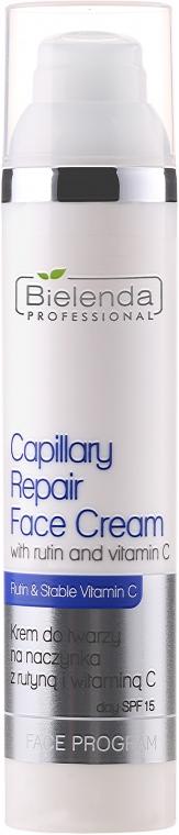 Gesichtscreme mit Vitamin C für Rosazea-Haut - Bielenda Professional Capilary Repair Face Cream — Bild N1