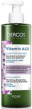 Düfte, Parfümerie und Kosmetik Revitalizierendes Shampoo für glanzloses und stumpfes Haar - Vichy Dercos Nutrients Vitamin A.C.E. Shampooning Brillance