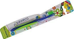 Düfte, Parfümerie und Kosmetik Kinderzahnbürste 3+ Jahre weich blau-grün - Yaweco Kids Toothbrush Soft