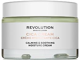 Düfte, Parfümerie und Kosmetik Feuchtigkeitsspendende und beruhigende Gesichtscreme mit Cica, Kamille und Traubenkernöl - Revolution Skincare Cica Calming & Soothing Moisture Cream