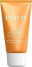 Düfte, Parfümerie und Kosmetik Pflegende Nachtmaske für das Gesicht mit Hyaluronsäure gegen Müdigkeit - Payot My Payot Sleeping Pack