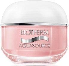 Düfte, Parfümerie und Kosmetik Reichhaltige feuchtigkeitsspendende Gesichtscreme für trockene Haut - Biotherm Aquasource Non Stop 50ml
