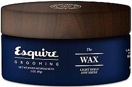 Düfte, Parfümerie und Kosmetik Wachs für Haarstyling - CHI Esquire Grooming The Wax Light Hold Low Shine