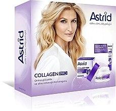 Düfte, Parfümerie und Kosmetik Gesichtspflegeset mit Kollagen (Gesichtscreme 50ml + Augencreme 15ml) - Astrid Collagen Pro