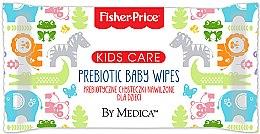 Düfte, Parfümerie und Kosmetik Sanfte und beruhigende Baby Feuchttücher - Fisher Price Kids Care Prebiotic Baby Wipes