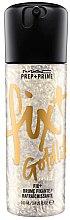 Düfte, Parfümerie und Kosmetik Schimmerndes Make-up Fixierspray - M.A.C Prep+Prime Fix+Shimmer (Goldlight)