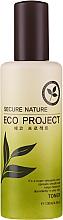 Düfte, Parfümerie und Kosmetik Hypoallergenes glättendes und feuchtigkeitsspendendes Gesichtstonikum - Secure Nature Eco Project Toner