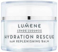 Düfte, Parfümerie und Kosmetik Regenerierender und feuchtigkeitsspendender Gesichtsbalsam - Lumene Lahde Hydration Rescue 24H Nourishing Balm