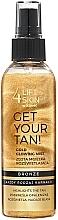 Düfte, Parfümerie und Kosmetik Körpernebel mit Glanz-Effekt - Lift4Skin Get Your Tan! Gold Glowing Mist