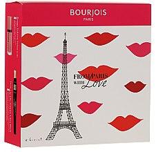 Düfte, Parfümerie und Kosmetik Makeup Set - From Paris with Love (Wimperntusche 8ml + Lippenstift 7.7ml)