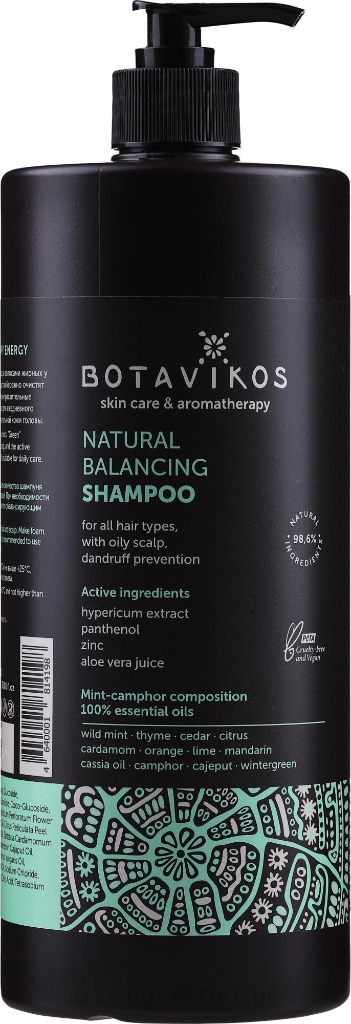 Natürliches Shampoo gegen Schuppen - Botavikos Natural Balancing Shampoo — Bild 1000 ml