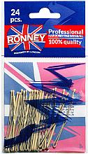 Düfte, Parfümerie und Kosmetik Haarklemmen 60 mm 24 St. - Ronney Cream Hair Bobby Pins