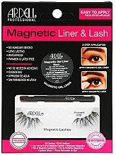 Düfte, Parfümerie und Kosmetik Augen-Set (Eyeliner 2g+Künstliche Wimpern 2St.) - Magnetic Lash & Liner 002 Lash
