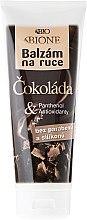 Düfte, Parfümerie und Kosmetik Handbalsam mit Schokolade - Bione Cosmetics Chocolate Hand Restorative Balm