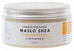Düfte, Parfümerie und Kosmetik Unraffinierte Sheabutter mit Orangenduft und Vitamin E für Körper und Gesicht - Natur Planet Orange Shea Butter Unrefined & Vitamin E