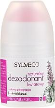 Düfte, Parfümerie und Kosmetik Deostick mit Blumen - Sylveco