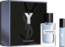 Düfte, Parfümerie und Kosmetik Yves Saint Laurent Y Pour Homme - Duftset (Eau de Toilette 60ml + Eau de Toilette 10ml)