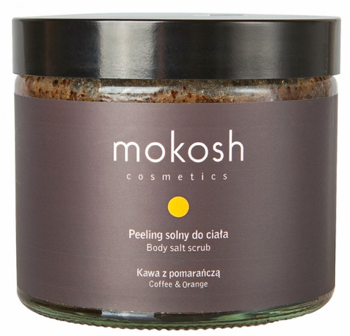 Salzpeeling für den Körper Kaffee & Orange - Mokosh Cosmetics Body Salt Scrub Coffee & Orange  — Bild N1
