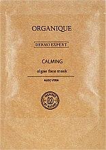Düfte, Parfümerie und Kosmetik Beruhigende Alginatmaske für das Gesicht mit Aloe Vera - Organique Dermo Expert Face Mask