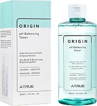 Düfte, Parfümerie und Kosmetik Hypoallergener Toner für das Gesicht - A-True Origin pH Balancing Toner