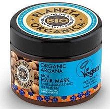 Düfte, Parfümerie und Kosmetik Regenerierende Haarmaske - Planeta Organica Organic Argana Rich Hair Mask