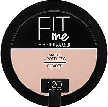 Düfte, Parfümerie und Kosmetik Mattierendes Kompaktpuder - Maybelline Fit Me Matte Poreless Pressed Powder (8.5 g)