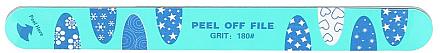 Nagelfeile mit 6 Schichten 180/180 - Tools For Beauty Nail File 6 Layer Peel Off — Bild N1