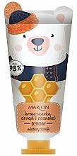 Düfte, Parfümerie und Kosmetik Schützende Creme-Maske für Hände und Nägel mit Glycerin und Zimtextrakt - Marion Funny Animals Hand Cream Mask