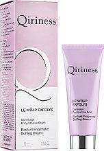 Düfte, Parfümerie und Kosmetik Schimmerndes enzymatisches Gesichts-Gommage-Peeling - Qiriness Radiant Enzymatic Buffing Cream