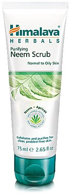 Gesichtspeeling mit Neem für normale bis fettige Haut - Himalaya Herbals Purifying Neem Scrub — Bild N1