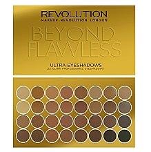 Düfte, Parfümerie und Kosmetik Lidschattenpalette - Makeup Revolution Ultra 32 Shade Palette Beyond Flawless