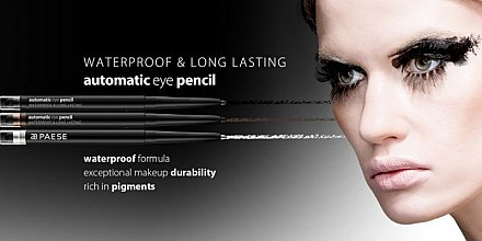 Wasserdichter Eyeliner - Paese Cosmetics Automatic Eye Pencil Waterproof & Long Lasting — Bild N3