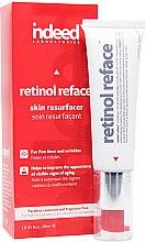 Düfte, Parfümerie und Kosmetik Leichtes und cremiges Gesichtsserum gegen Falten mit Retinol und Peptiden - Indeed Laboratories Retinol Reface