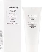 Düfte, Parfümerie und Kosmetik Porenverfeinerndes Gesichtspeeling - Comfort Zone Essential Scrub