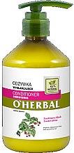 Düfte, Parfümerie und Kosmetik Glättende Haarspülung für mehr Glanz mit Himbeerextrakt - O'Herbal